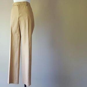 Tan Pants Ralph Lauren Adelle Size 10